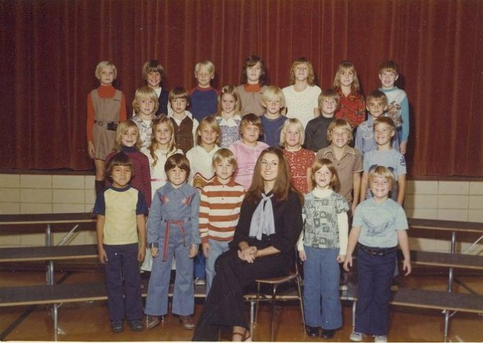 2nd grade: Steph = 2nd row, 2nd from left